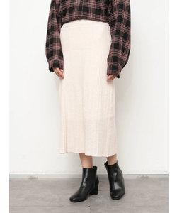 【WEB限定】 ニットスカート