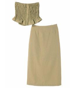 ・RAYCASSIN SET2点ビスチェ×スカート
