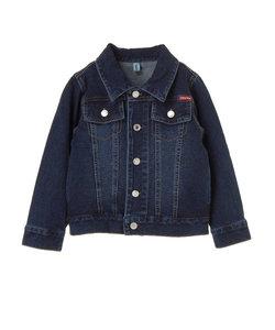 【KIDS】・ニットデニムジャケット