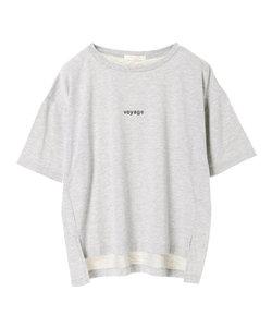 ・ワンポイントロゴTシャツ