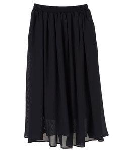 ふんわりロングスカート