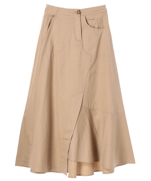・Kツイルアシメトリ-スカート