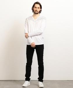 【AXアルマーニ エクスチェンジ】ウィングデザイン ロングTシャツ