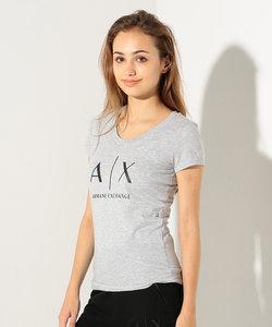 【AXアルマーニ エクスチェンジ】AXロゴ Tシャツ