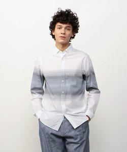 【AXアルマーニ エクスチェンジ】コットングラデーションシャツ
