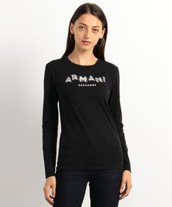 【A Xアルマーニ エクスチェンジ】AXロゴロングTシャツ