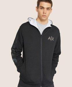 【A|Xアルマーニ エクスチェンジ】ダブルジップパーカー
