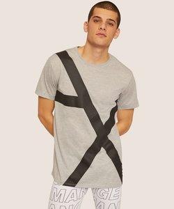 【A|Xアルマーニ エクスチェンジ】ビックAXロゴ Tシャツ