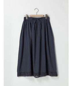 裾レーススカート