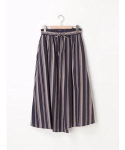 ソフト綿ツイルラップマキシスカート