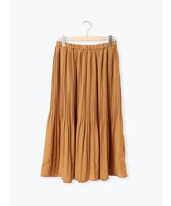 ●サテンプリーツスカート