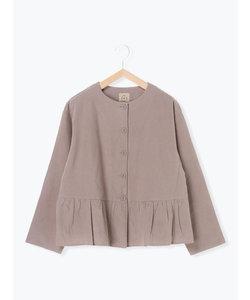 裾ギャザージャケット