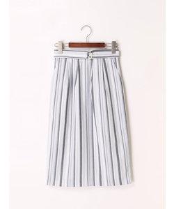 オックスランダムストライプタイトスカート