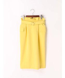 ダブルクロスアウトポケットスカート