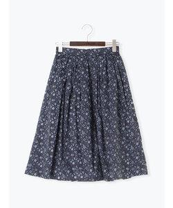 libertyタナローン小花柄スカート