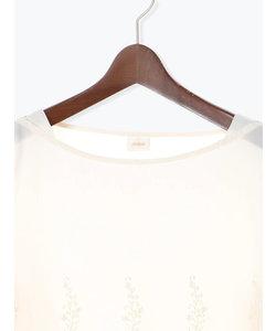綿ローンスカラ刺繍ブラウス