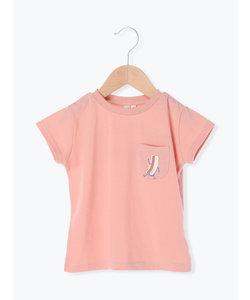 ホットドックプリントTシャツ