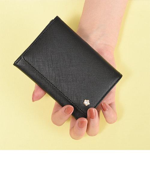 角シボメタルポイント カードケース