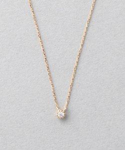 K18PGダイヤモンド ダイヤネックレス