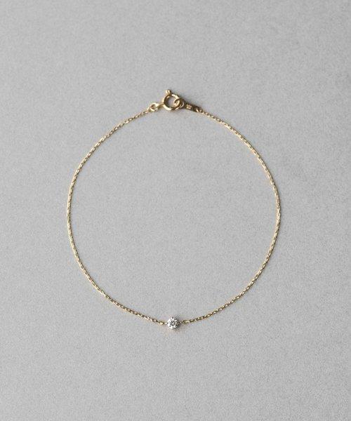 K18 ダイヤモンド ブレスレット「ブライト」