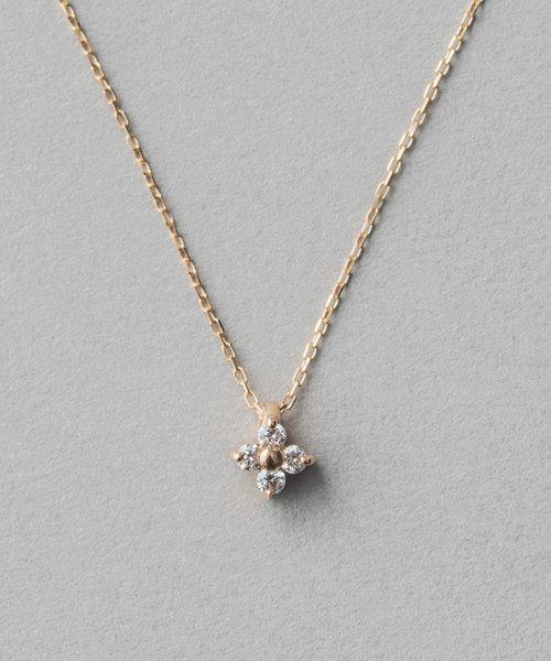 K18 ブライト ダイヤモンド ネックレス