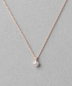 K18 ダイヤモンド ネックレス「ブライト」
