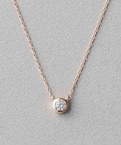 K18 ダイヤモンド 0.1ct ネックレス「ブライト」