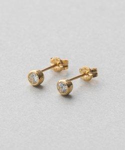 K18 ダイヤモンド 0.2ct ピアス「ブライト」