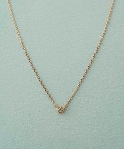 K10 レイヤー ダイヤモンド ネックレス
