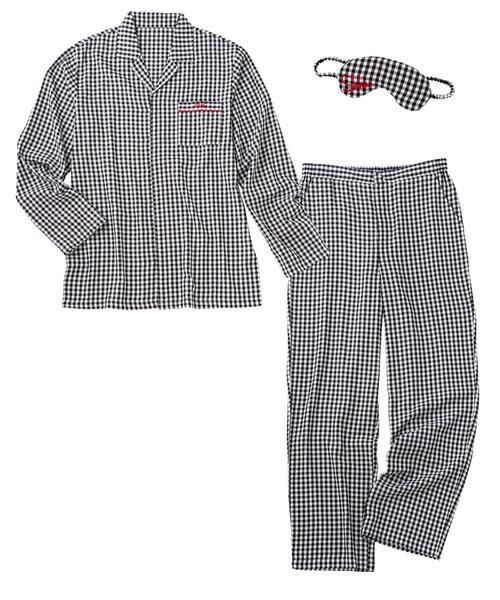 メンズシャツパジャマセット