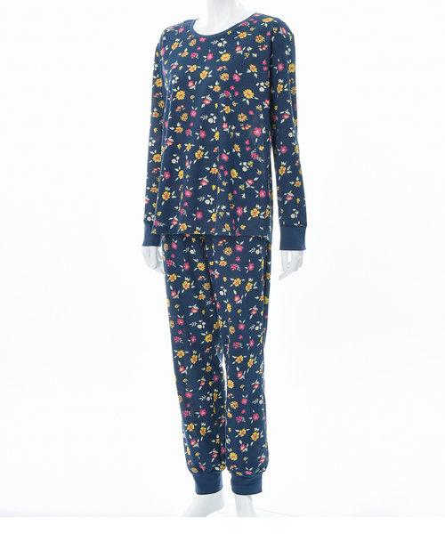 ラウンドネックサーマルパジャマ