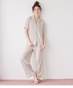 プリンテッドリラックスシャツパジャマ