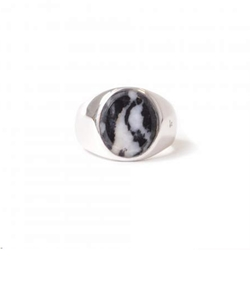 TOM WOOD「OVAL ZEBRA MARBLE [MENS]」