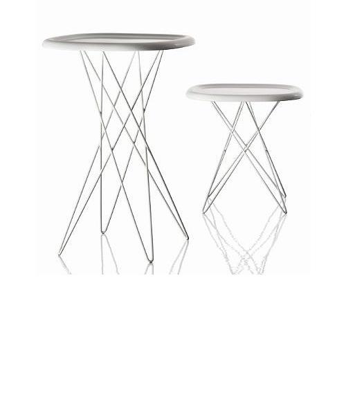 【受注生産品】Deja-vu MirrorPizza Table ピッツァ テーブル(H450)