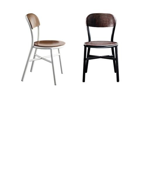 【受注生産品】Pipe Chair パイプチェア ウッド(アーム無)