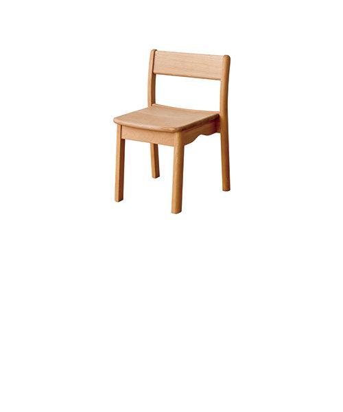 【受注生産品】kids furniture キッズスタッキングチェア(ビーチ) KF205B