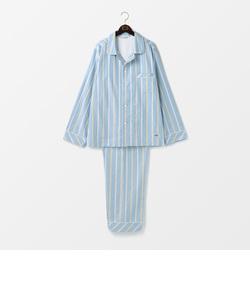 ピケストライプメンズパジャマ