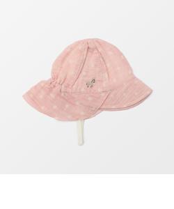 ベビーつば付き帽子