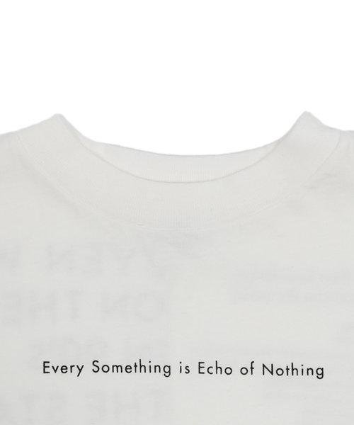 GROOVY COLORS | テンジク ECHO ワイドシルエット Tシャツ