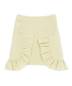 melt   フリルサイドポケットAラインスカート