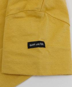 quoti use fith | 天竺半袖星柄Tシャツ