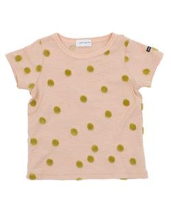 quoti use fith | ポコポコドットジャガード天竺 半袖Tシャツ