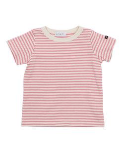quoti use fith | ミニバスクボーダー半袖Tシャツ