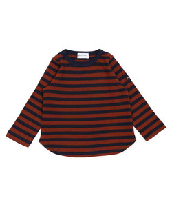 quoti use fith | 16/-ボーダーテンジク L/S Tシャツ