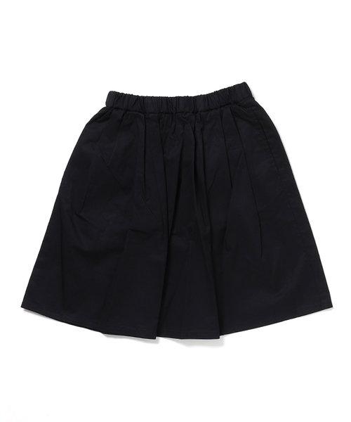 ハイゲージコットンタックギャザースカート