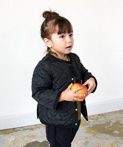 ナカワタ 長袖 キルトノーカラージャケット