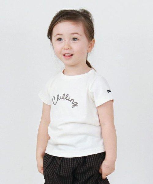 16/- ソフト天竺 'chilling' 半袖 Tシャツ