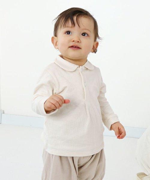 マシュマロ接結 長袖 シャツ