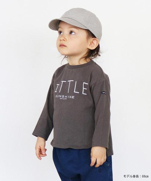 16/-ソフト天竺 LITTLE SUNSHINE 長袖Tシャツ