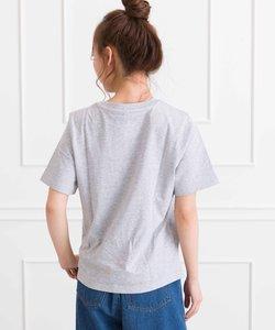 ポケ付クルーネックTシャツ